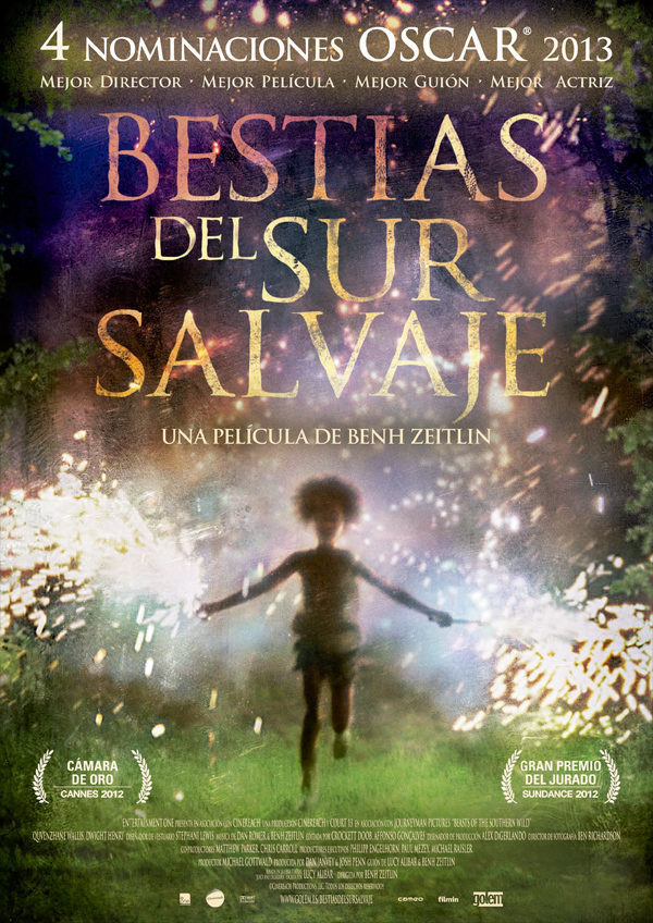 España poster for Beasts of the Southern Wild