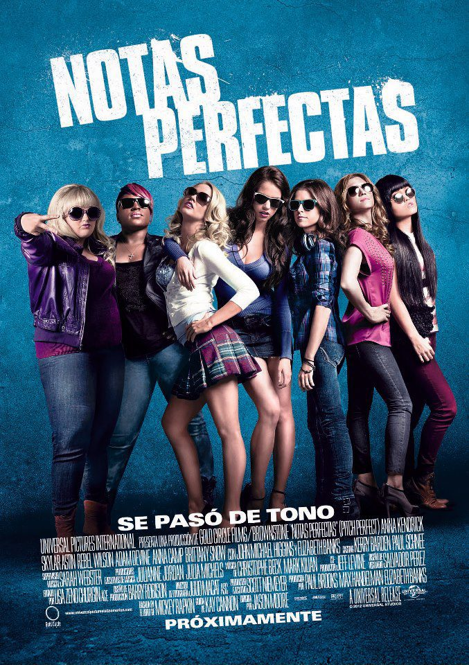 México poster for Pitch Perfect