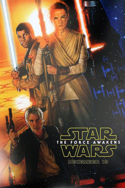 Estados Unidos poster for Star Wars: Episode VII - The Force Awakens