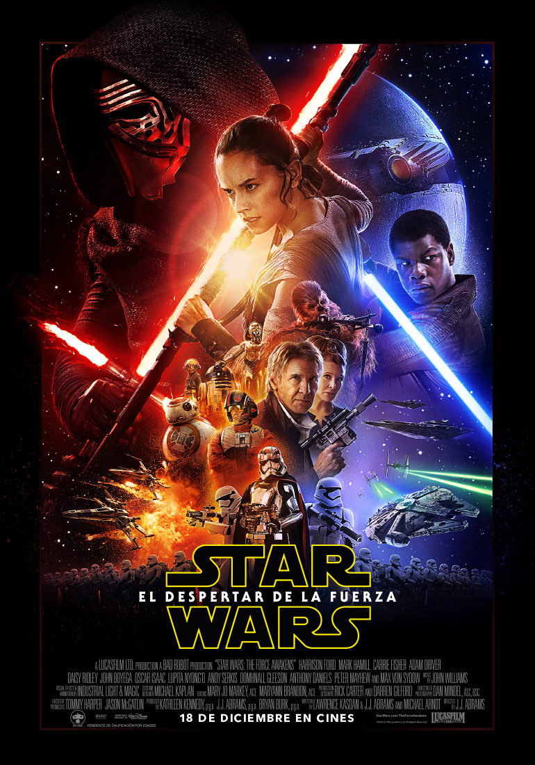 España poster for Star Wars: Episode VII - The Force Awakens