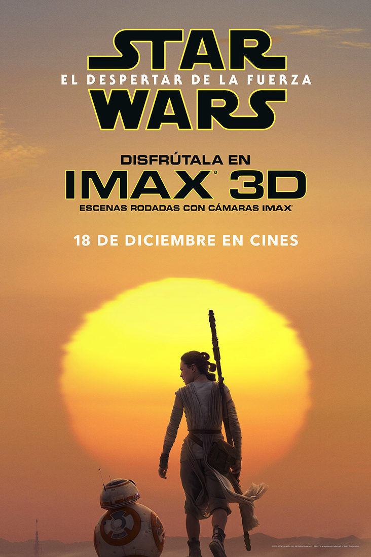 IMAX poster for Star Wars: Episode VII - The Force Awakens
