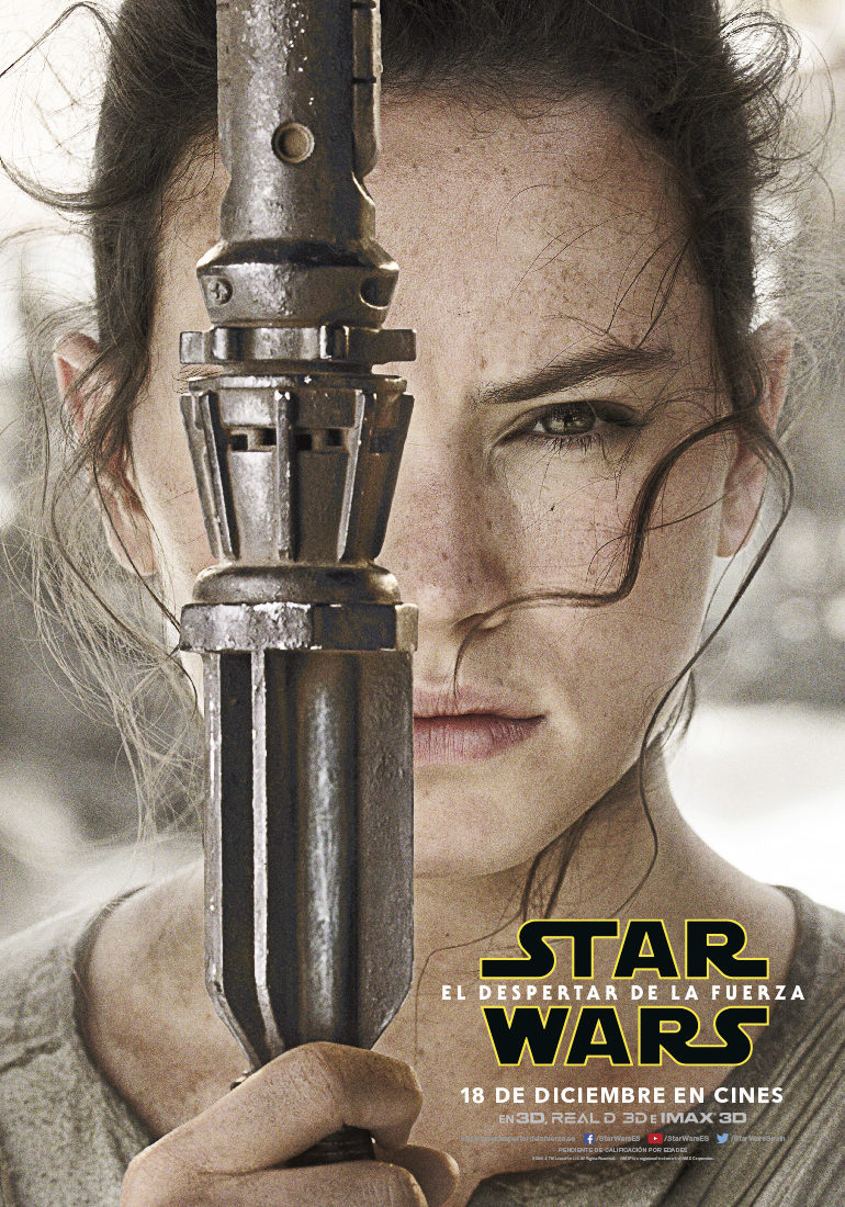 Rey - España poster for Star Wars: Episode VII - The Force Awakens