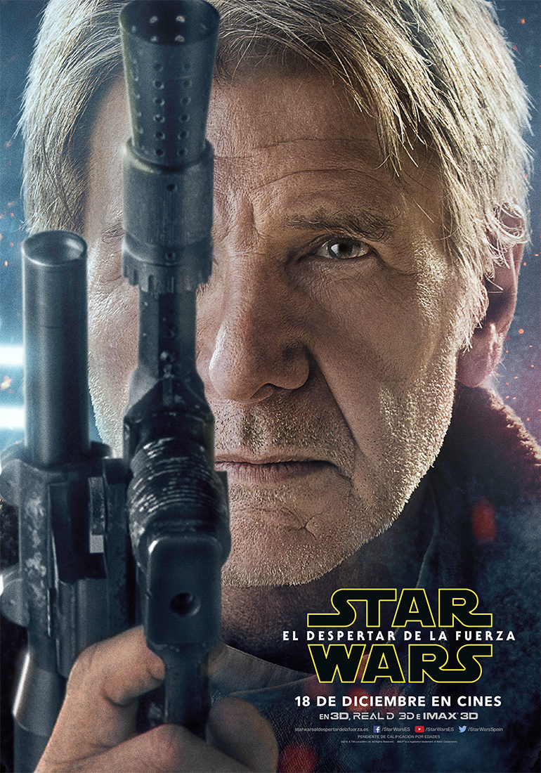 Han Solo - España poster for Star Wars: Episode VII - The Force Awakens