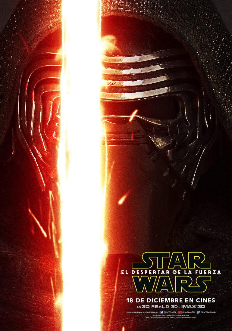 Kylo Ren - España poster for Star Wars: Episode VII - The Force Awakens