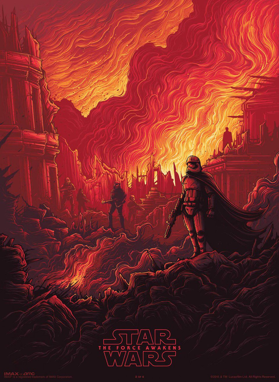 Phasma poster for Star Wars: Episode VII - The Force Awakens