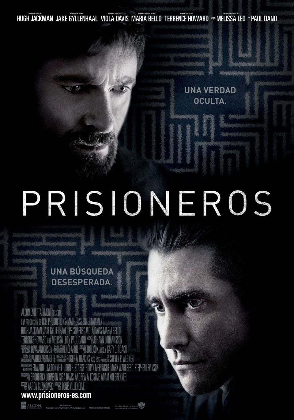 España 2 poster for Prisoners