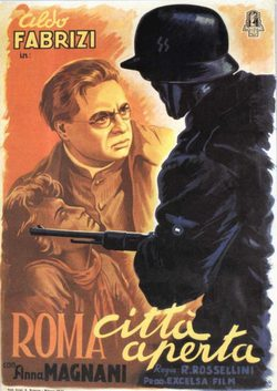 Rome, Open City poster