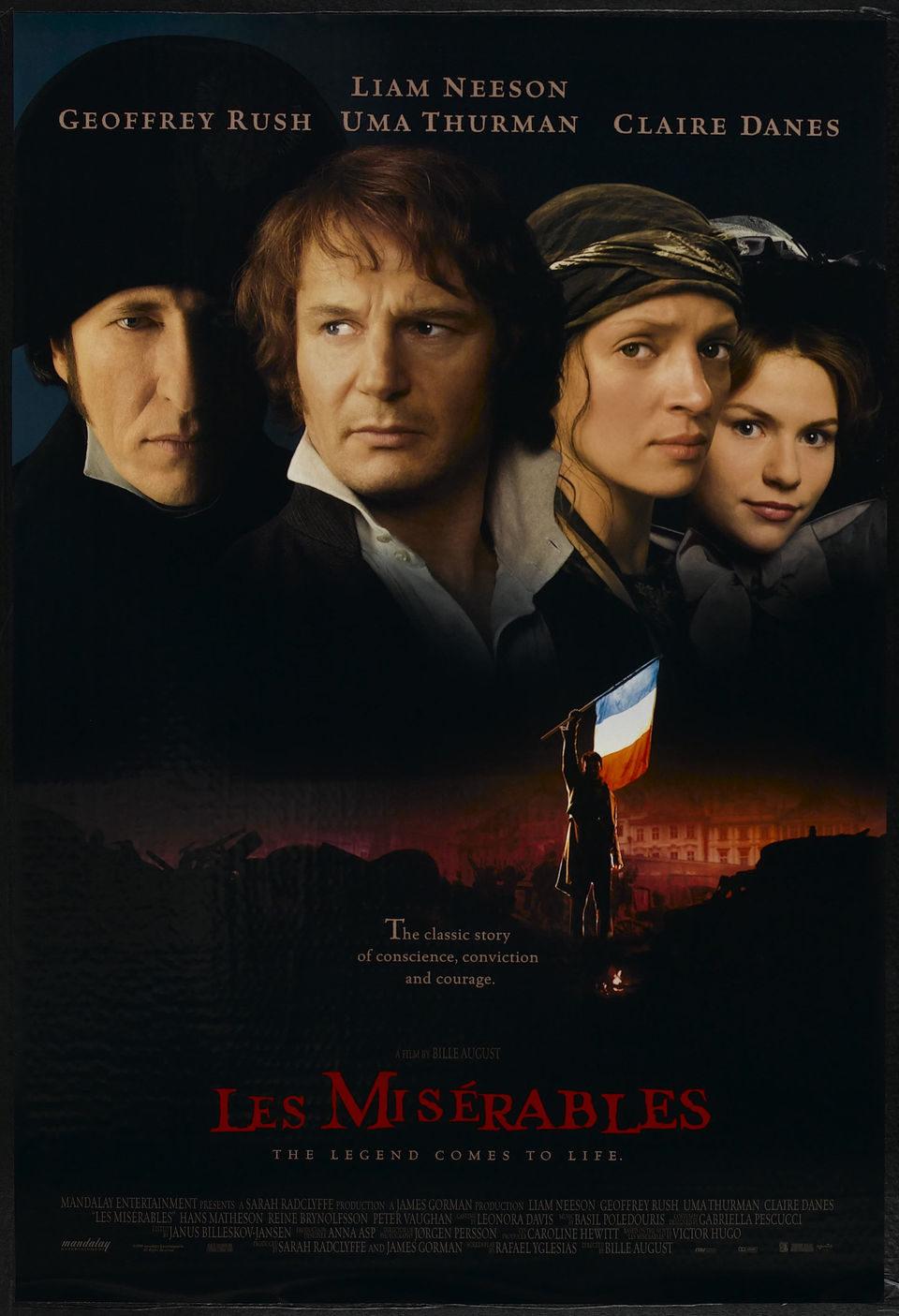 EEUU poster for Les Misérables