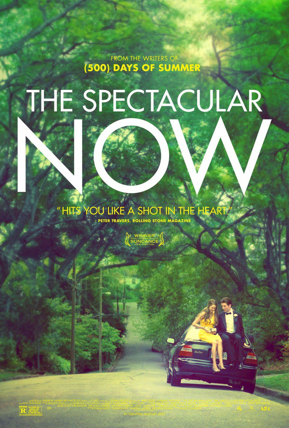 EEUU poster for The Spectacular Now