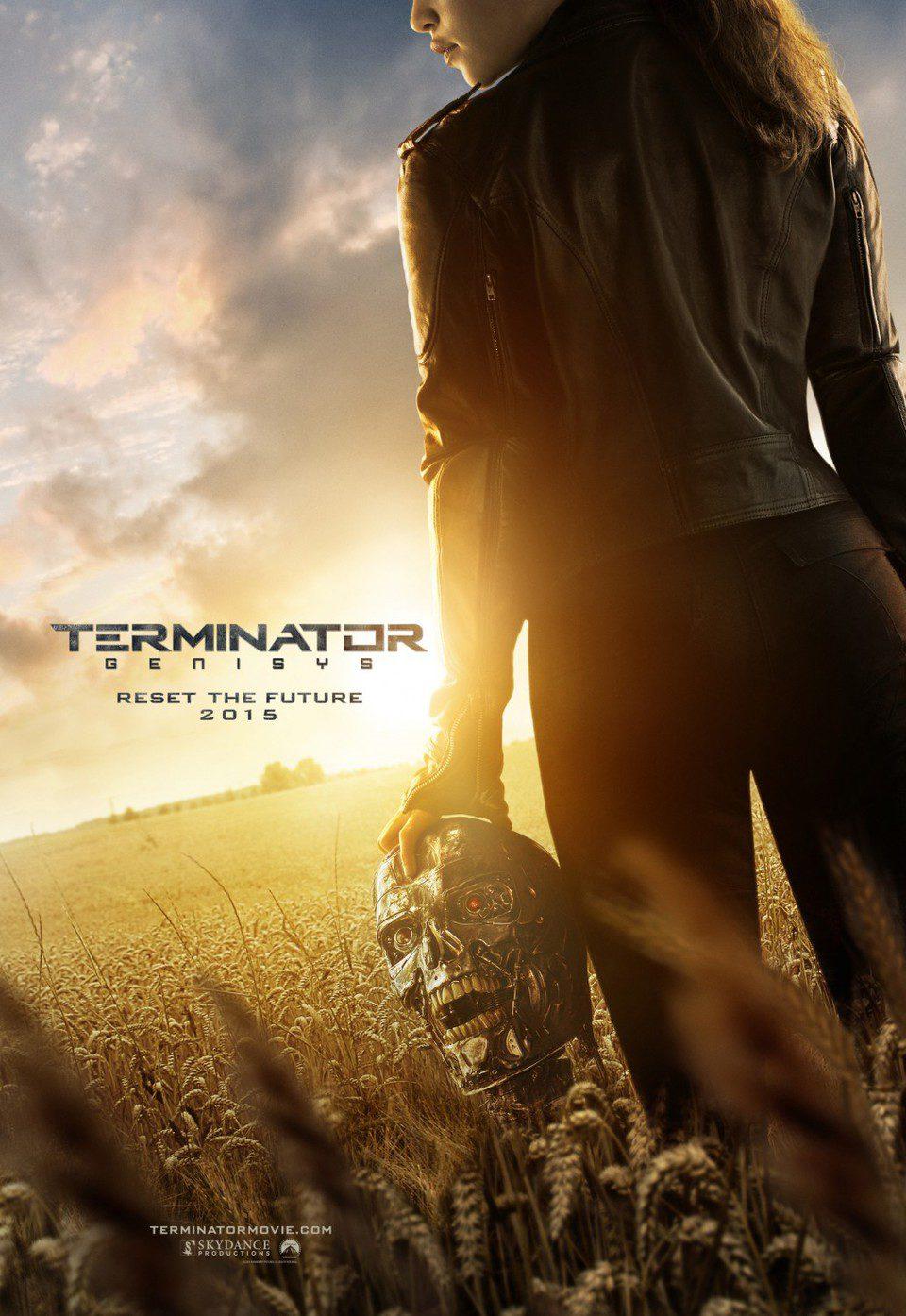 EEUU poster for Terminator Genisys