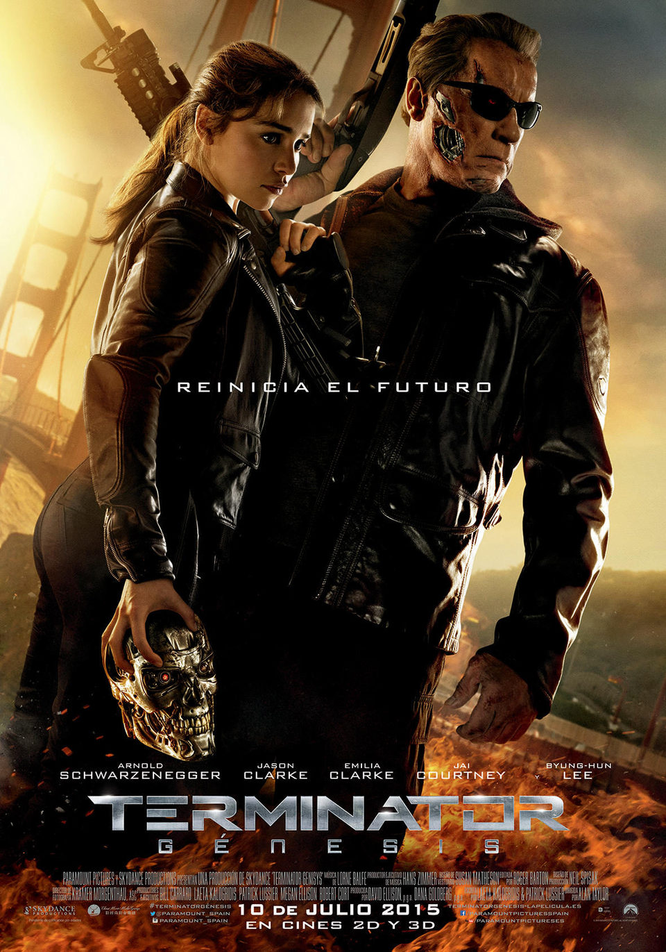 España poster for Terminator Genisys