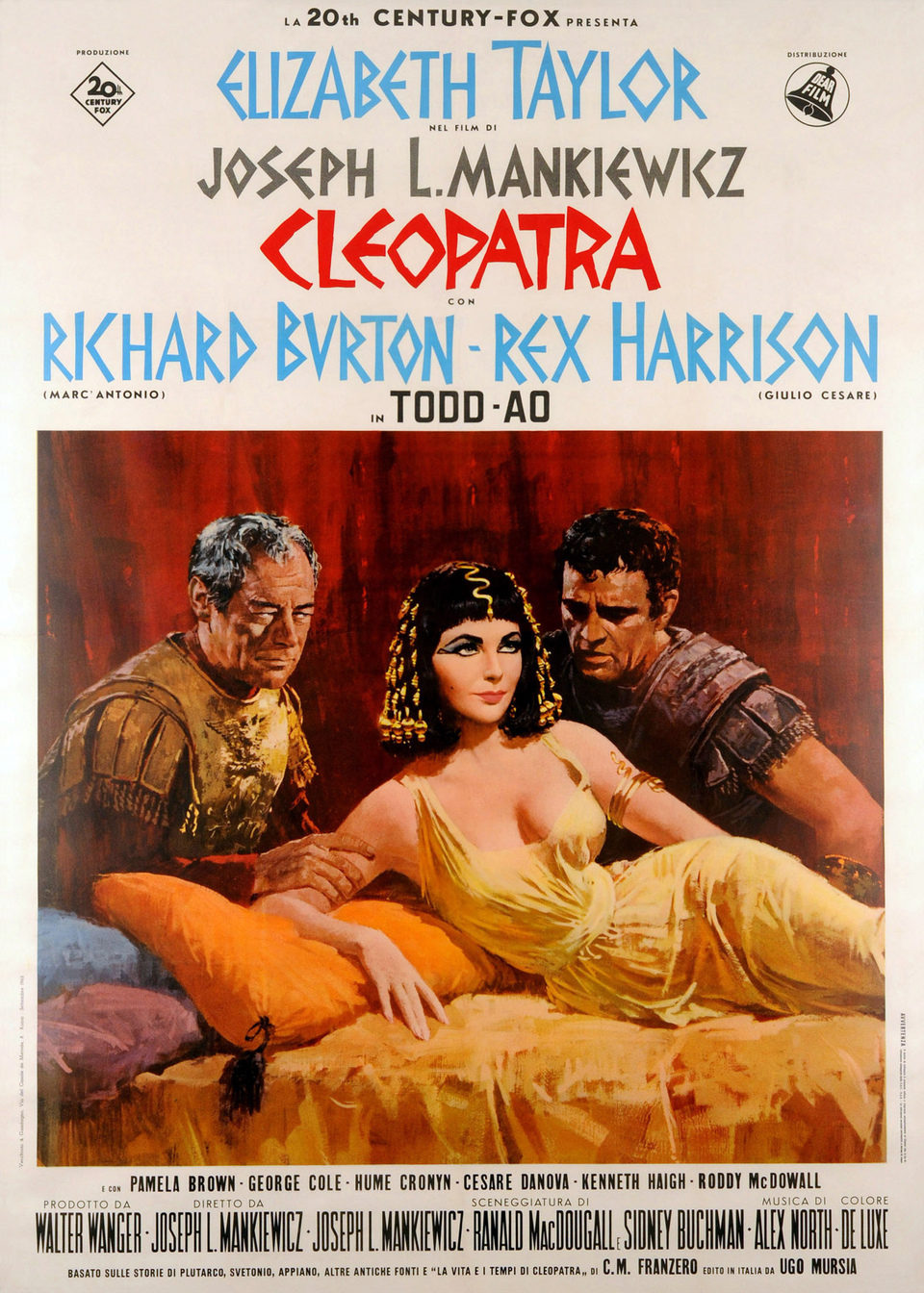 EEUU poster for Cleopatra