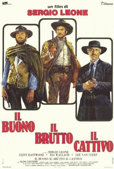 Italia poster for The Good, the Bad and the Ugly