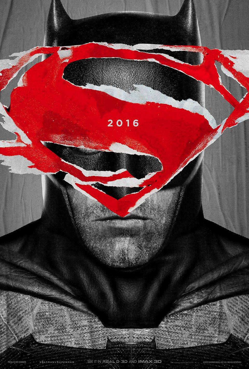 IMAX 2 poster for Batman v Superman: Dawn of Justice