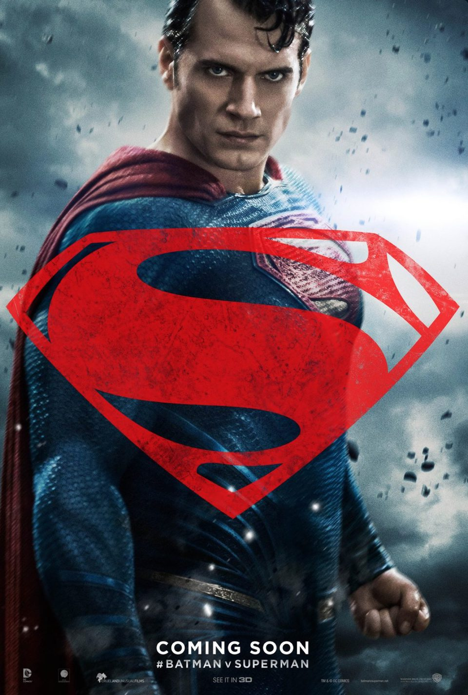Estados Unidos poster for Batman v Superman: Dawn of Justice
