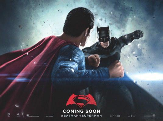 Hortizontal Batman poster for Batman v Superman: Dawn of Justice