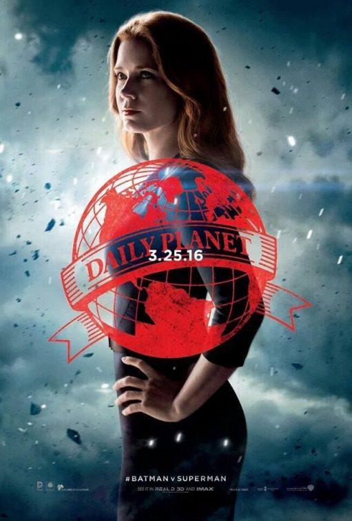 Lois Lane poster for Batman v Superman: Dawn of Justice