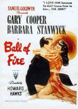 Ball of Fire poster