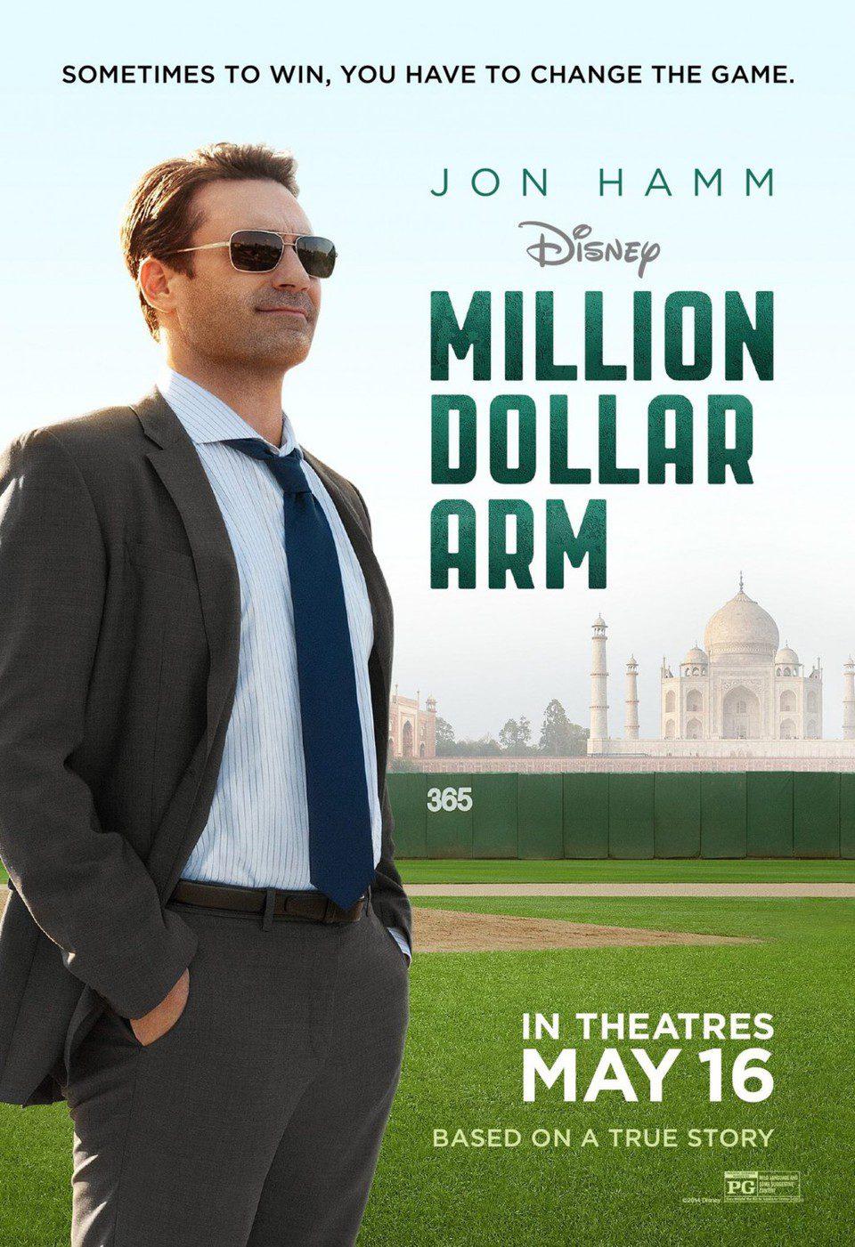 Estados Unidos poster for Million Dollar Arm