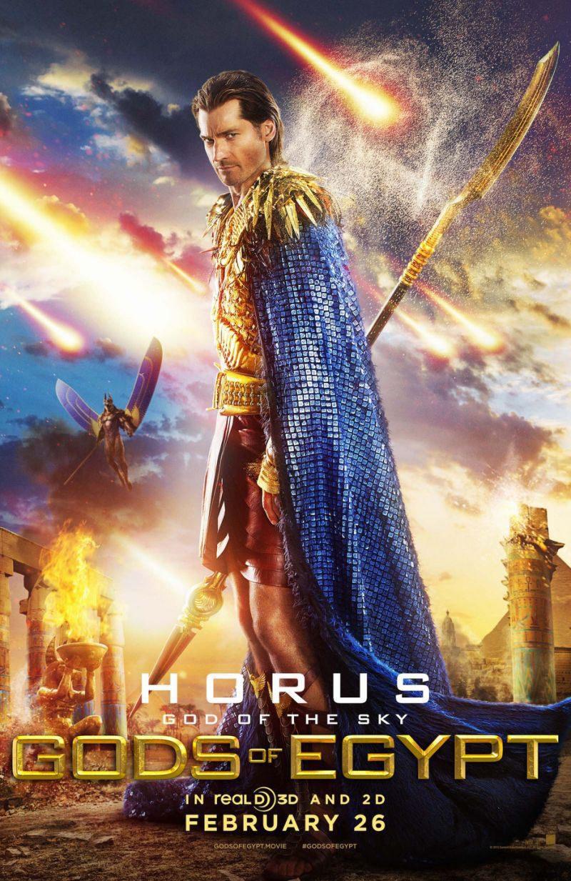 HORUS UK poster for Gods of Egypt