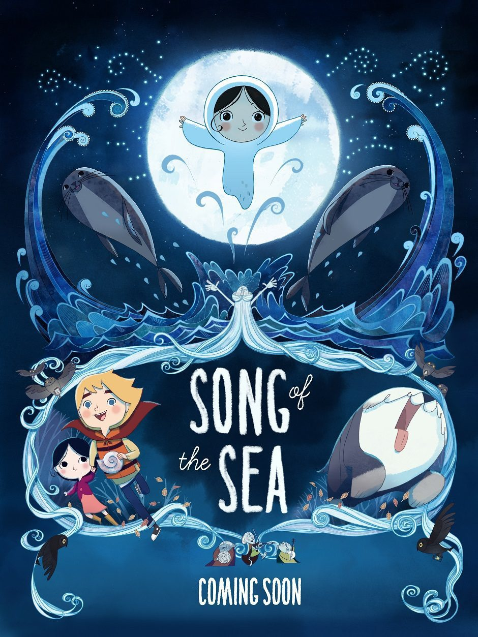 Irlanda poster for Song of the Sea
