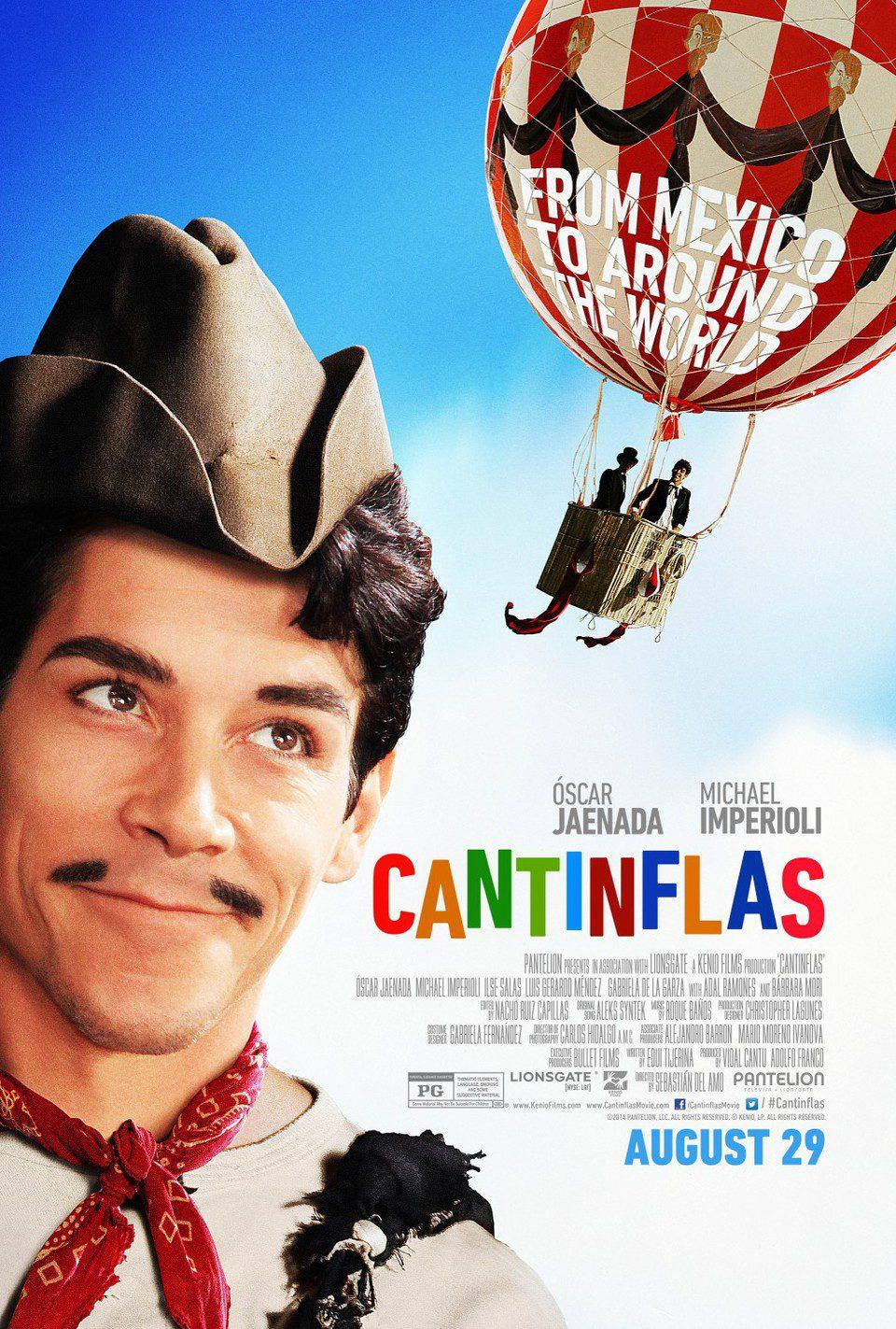 Estados Unidos poster for Cantinflas