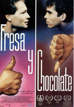 Strawberry and Chocolate poster