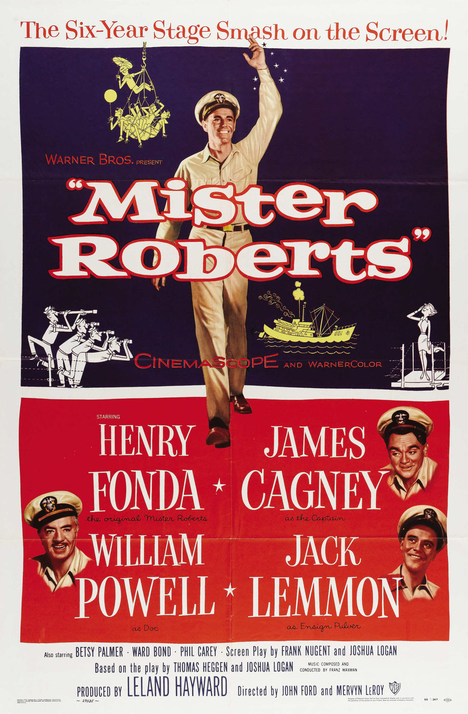 Estados Unidos poster for Mister Roberts