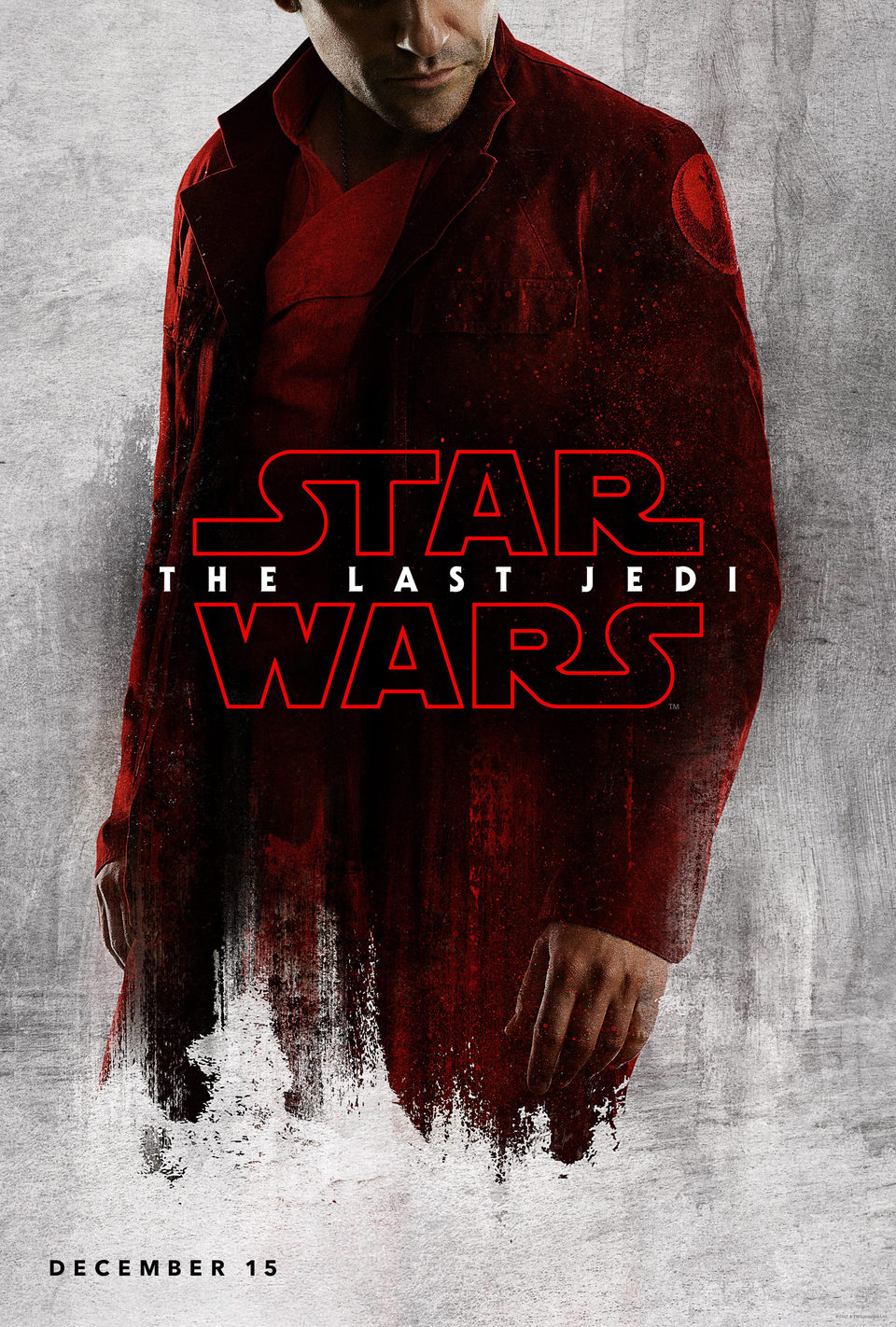 Poe poster for Star Wars: The Last Jedi