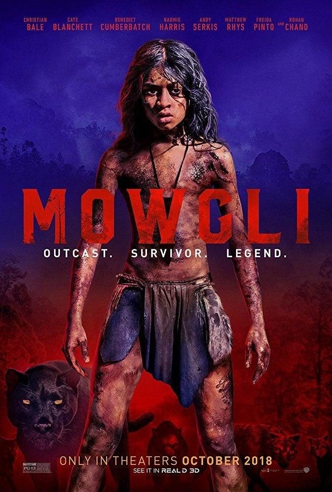 Cartel internacional poster for Mowgli: Legend of the Jungle
