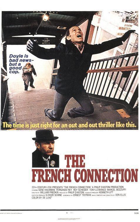 Estados Unidos poster for The French Connection