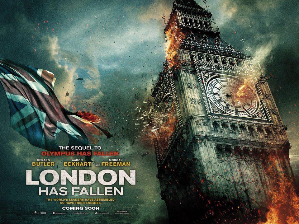 'London Has Fallen' poster horizontal poster for London Has Fallen