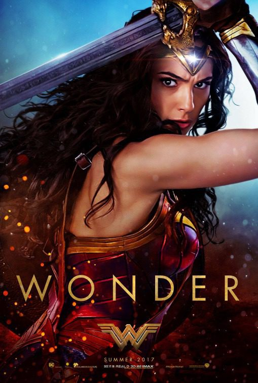 EEUU #1 poster for Wonder Woman