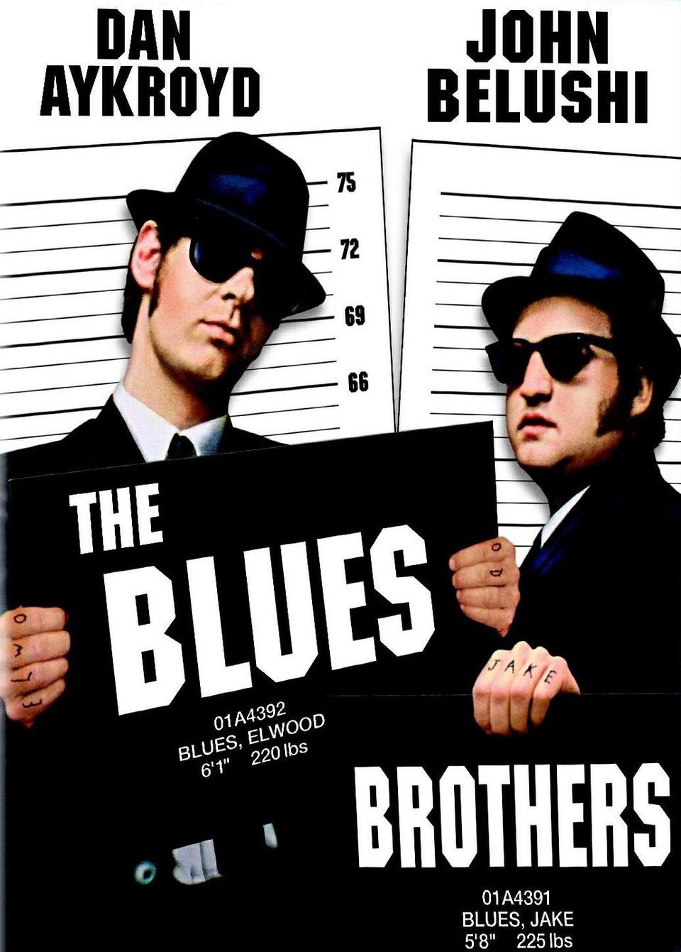 Estaodos Unidos poster for The Blues Brothers