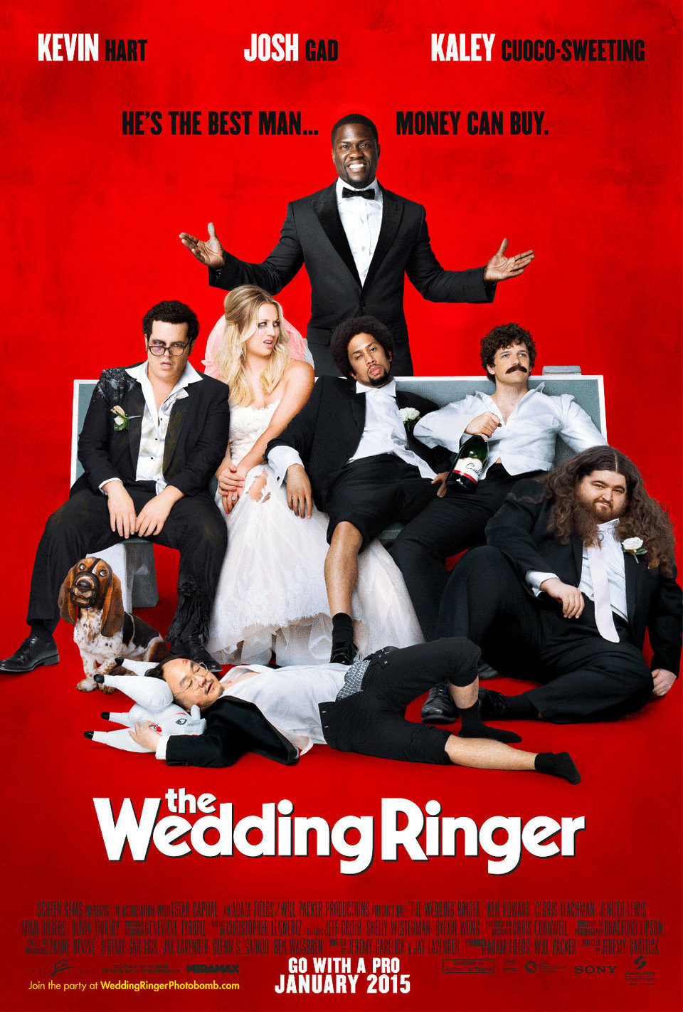 EEUU poster for The Wedding Ringer