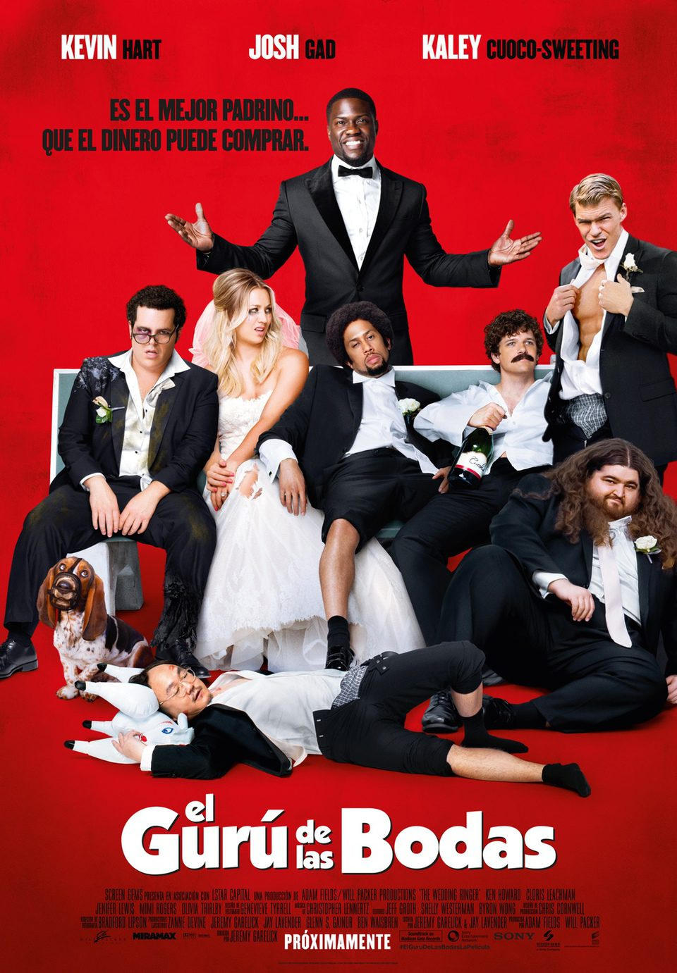 España poster for The Wedding Ringer