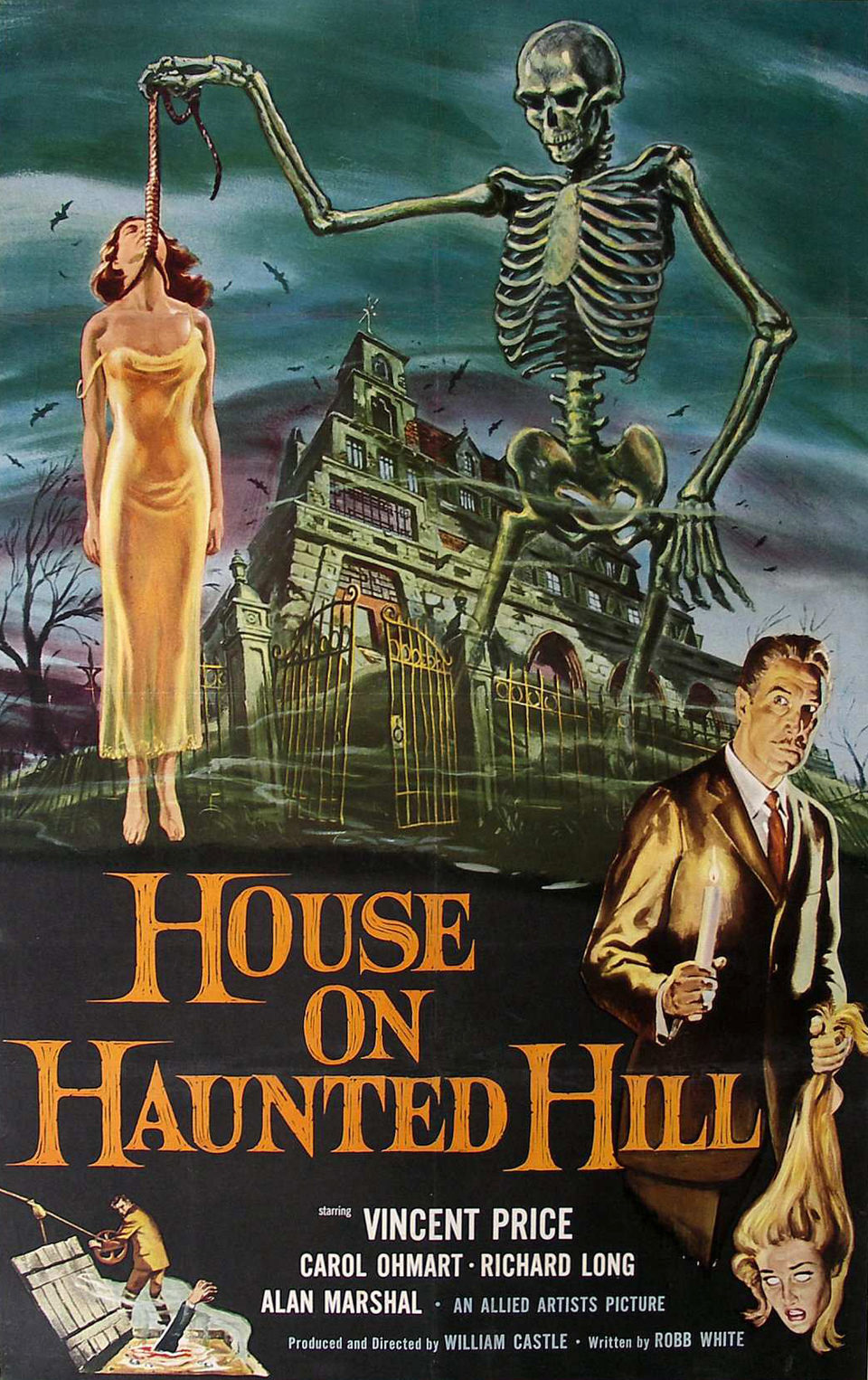 Estados Unidos poster for House on Haunted Hill