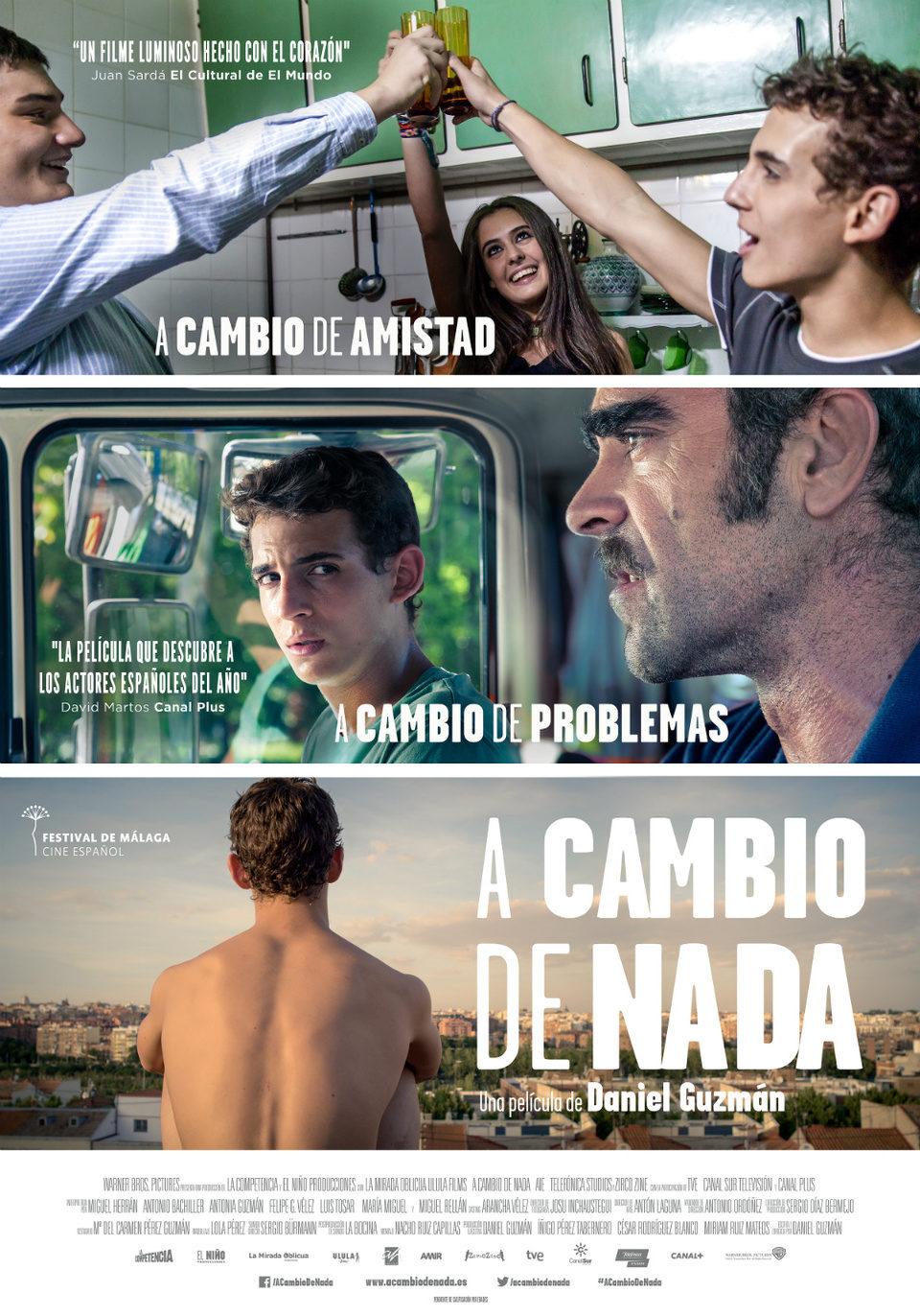 España poster for A cambio de nada