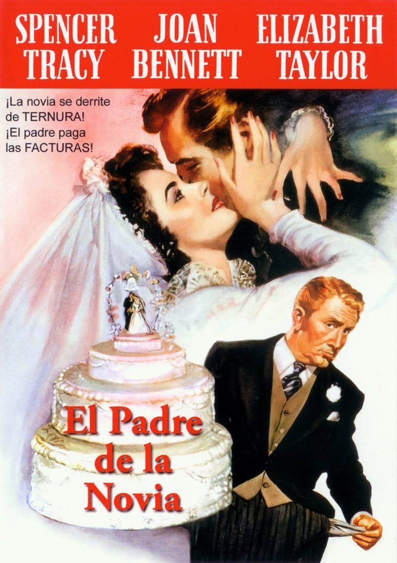 España poster for Father of the Bridge