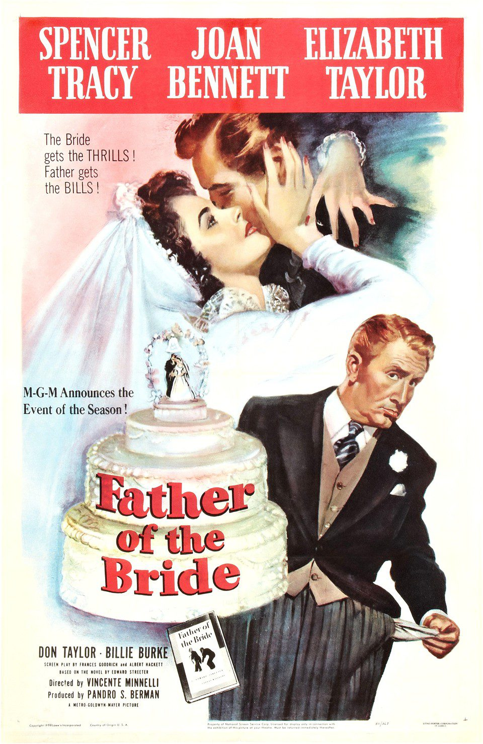 Estados Unidos poster for Father of the Bridge