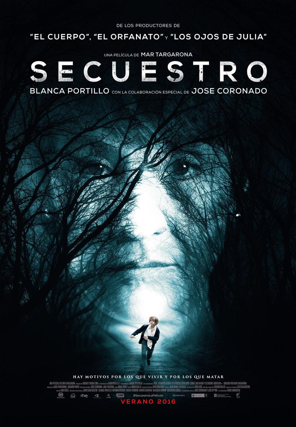 España Oficial poster for Secuestro