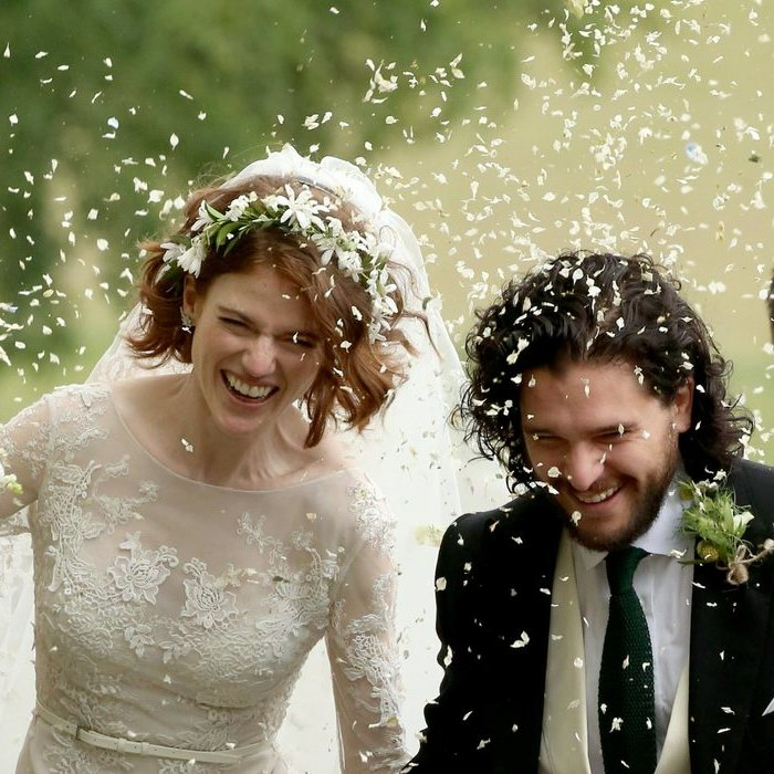 The wedding of Kit Harington and Rose Leslie in Scotland