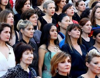 Cate Blanchett, Ang�s Varda and 80 other women stand in a silent protest for female representation at Cannes