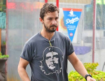 Shia LaBeouf is unrecognisable on set of 'Honey Boy'