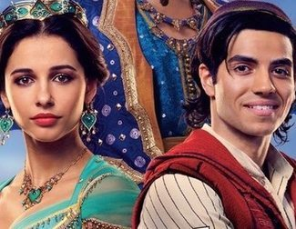 'Aladdin': First Images of Will Smith as the Genie and Naomi Scott as Jasmine