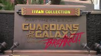 Presentation of 'Guardians of the Galaxy - Mission: BREAKOUT!' ride