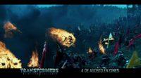 'Transformers: El Último Caballero' TV Spot