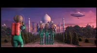 'Mars Attacks' - The martians destroy the Earth