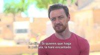 James McAvoy 'Submergence's' interview
