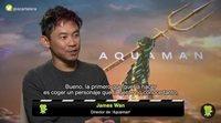 James Wan talks about the pressure he felt directing 'Aquaman'